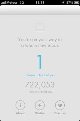 Mailbox app waiting list