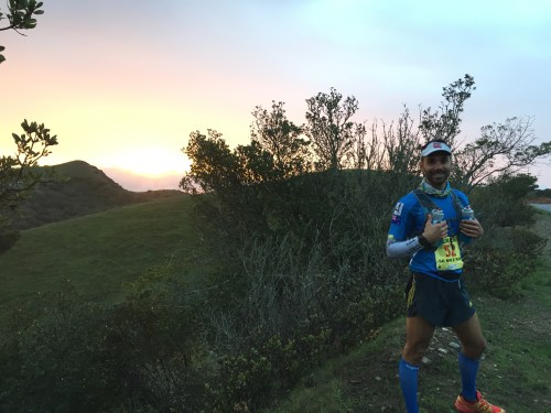 Richard Bray during the Avalon 50mile