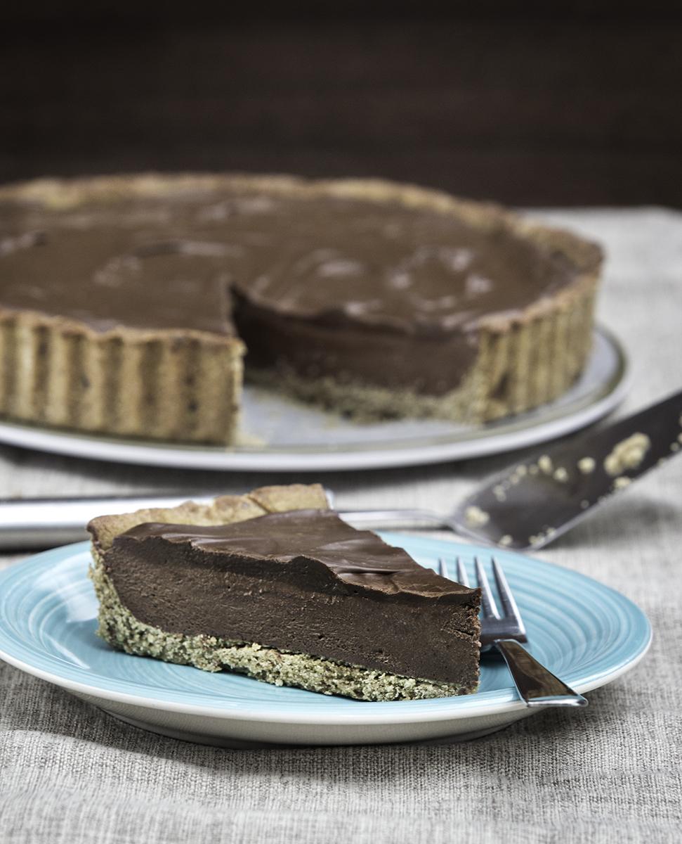 final vegan chocolate tart