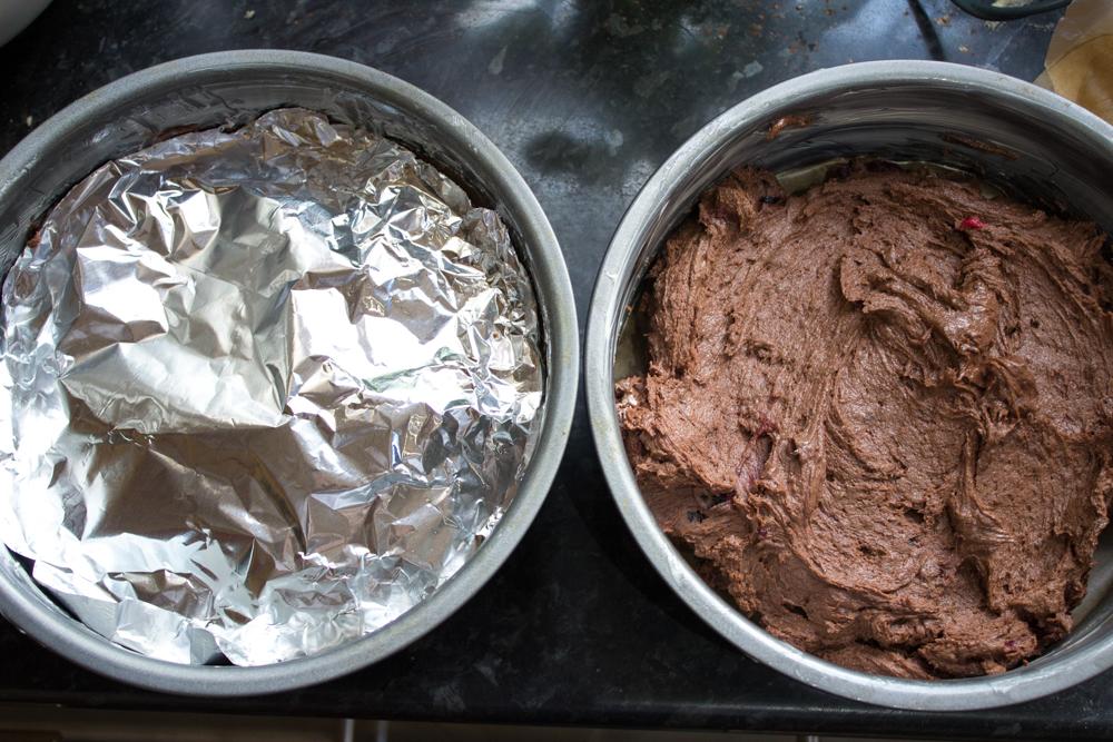 Vegan and gluten free chocolate cake