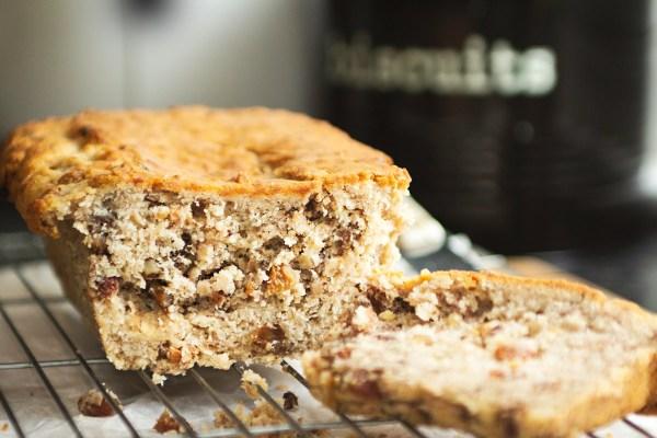 vegan banana and walnut bread recipe