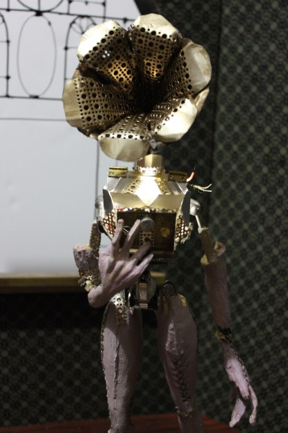 """The Gramophone machine"" Final Stop Motion Puppet 2"