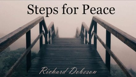 Steps For Peace - Richard Dobeson