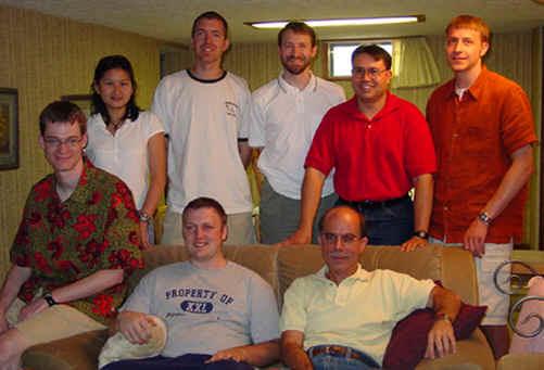 29 summer lab at dereks 2002