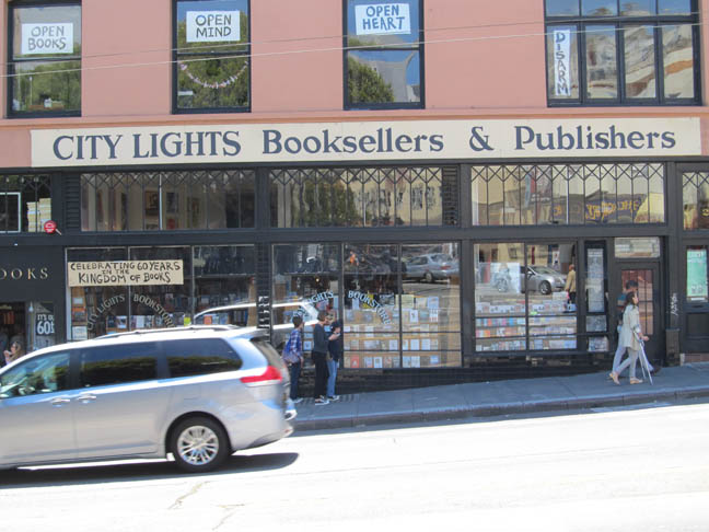 City Lights Bookstore x