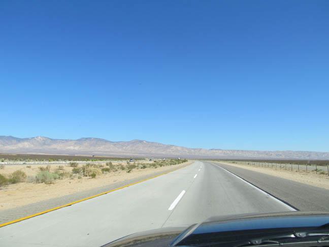 Mojave, entering x