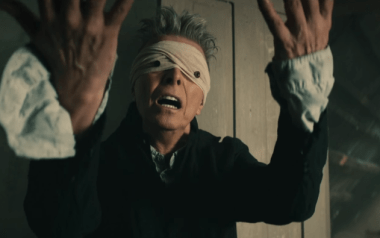 "[2016: Bowie exits with ""Blackstar.""]"