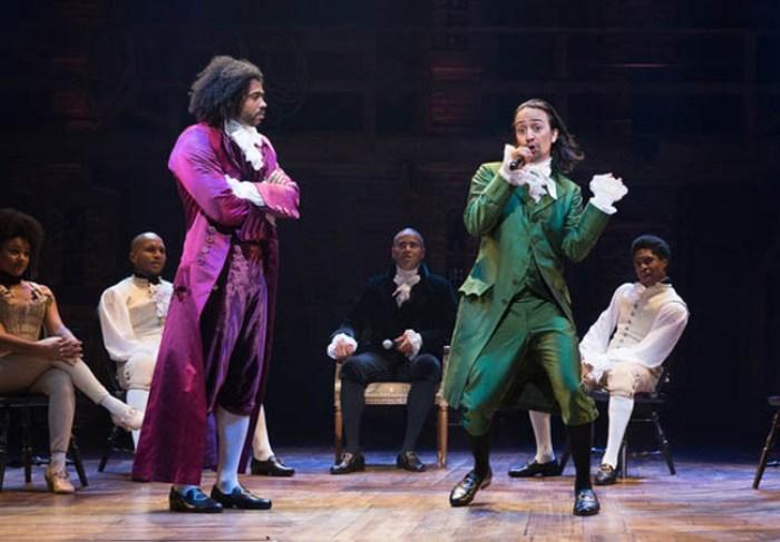 Hamilton musical, NYT image