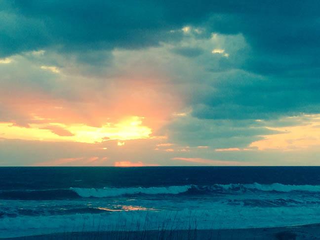 Ocean Sunrise, Melb Beach Mar2016