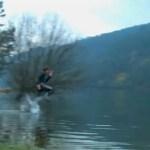 Loop over water….