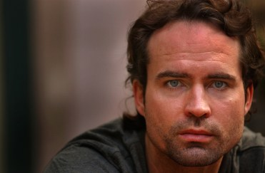 Actor Jason Patric at the Fairmount Miramar Hotel, Tuesday morning in Santa Monica. He gives a surprising, quietly intense performance as a tough but troubled cop in the gritty, visceral movie, Narc.