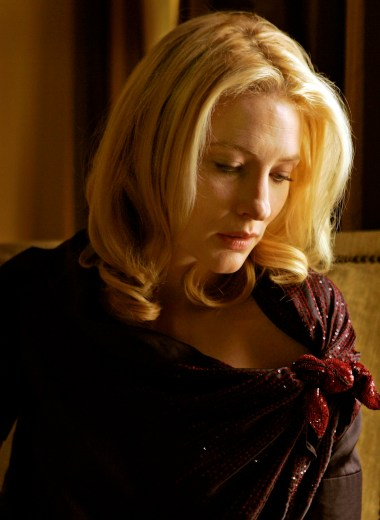Cate Blanchett at the Beverly Wilshire Hotel in Beverly Hills Sunday September 16, 2007. She is reprising the role that originated in seven Academy Award nominations for the movie, Elizabeth.