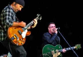 U2 - THE EDGE & BONO