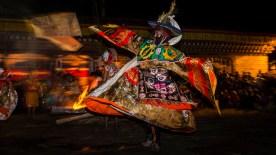 Fire festival, Bhutan