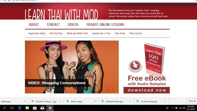Learn Thai with Mod