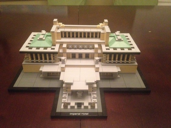 LEGO Imperial Hotel finished