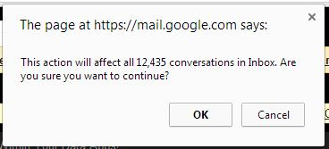 moving 12k emails