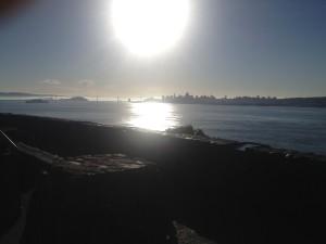 Sausalito looking on San Francisco