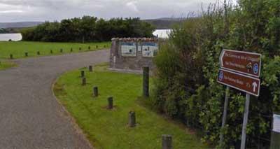 Loch Ewe Royal Navy panels