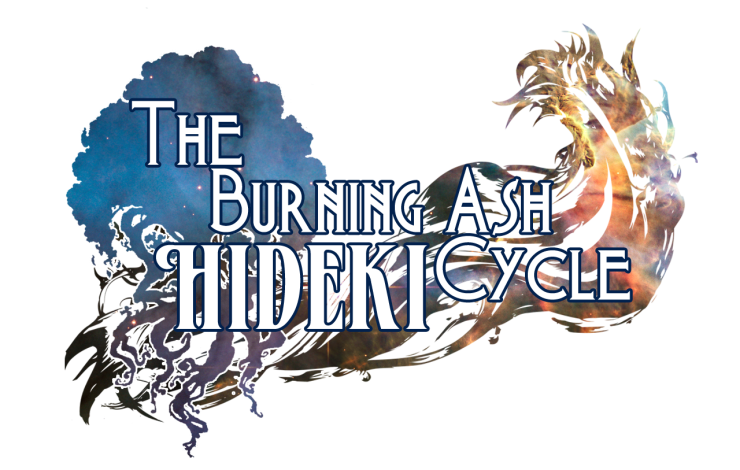 The Burning Ash Cycle: Hideki Mock-Up Logo