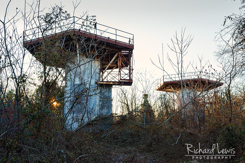 PH-58 Nike Missile Radar Towers by Richard Lewis
