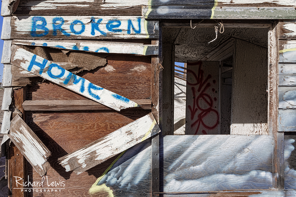 Bombay Beach Broken Home by Richard Lewis