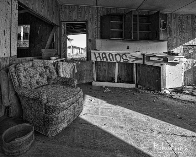 Bombay Beach Interior by Richard Lewis