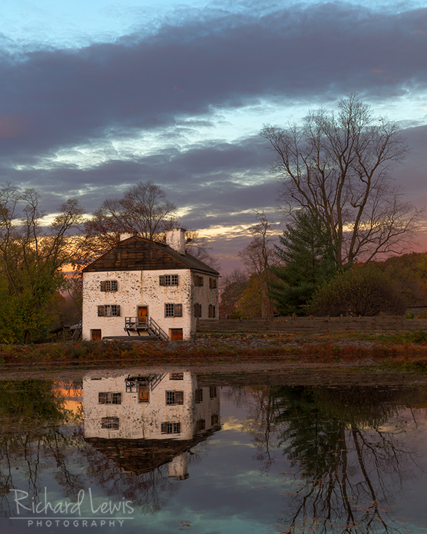 Philipsburg Manor in Sleepy Hollow New York by Richard Lewis