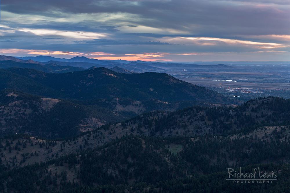 Boulder Colorado Morning by Richard Lewis