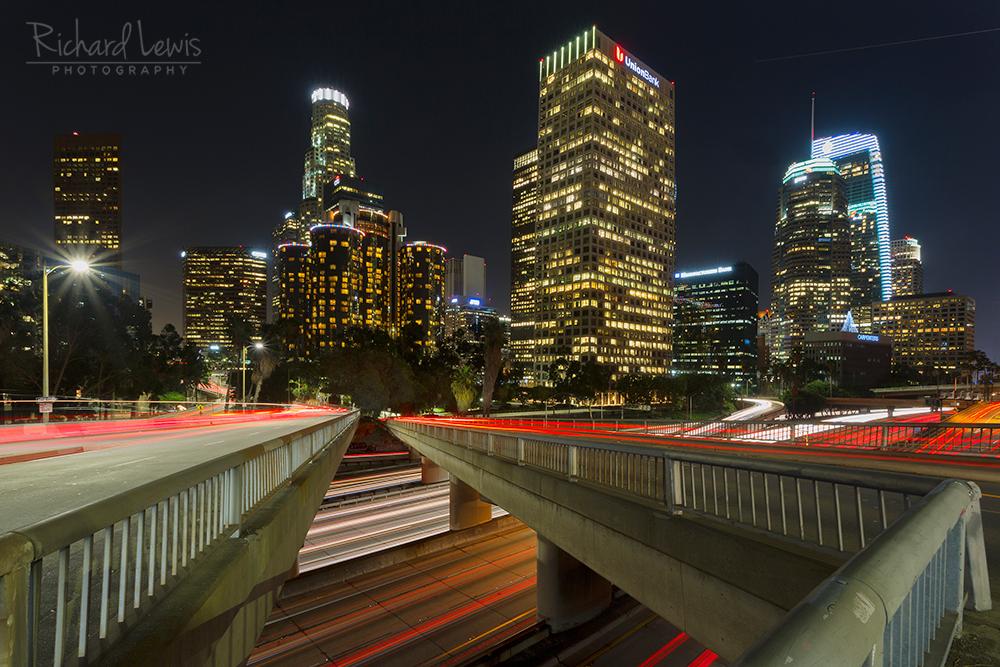 Light Flows Los Angeles California