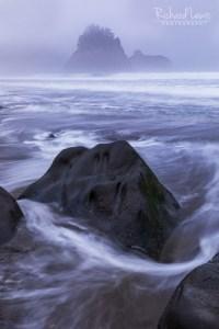 Fog On Rialto Beach Olympic National Park