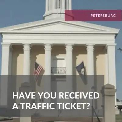 Petersburg Traffic Ticket Attorney