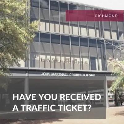 Richmond Traffic Attorney