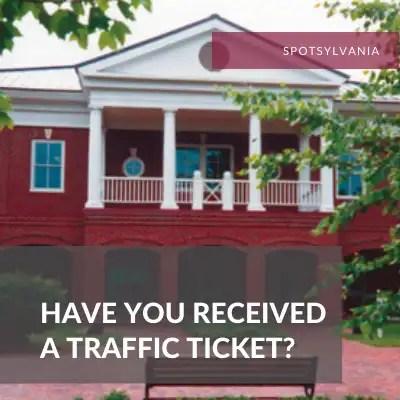 Spotsylvania Traffic Lawyer