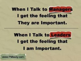 talk to manager leader