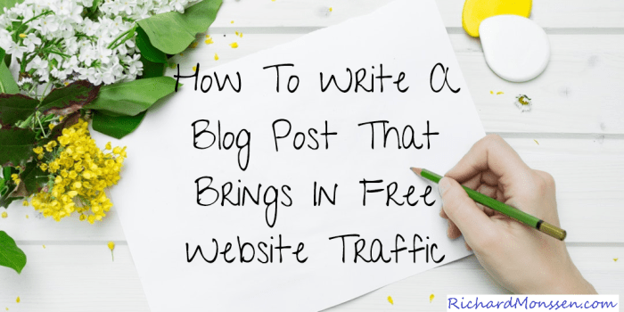 The Truth About Free Website Traffic And How To Get It!