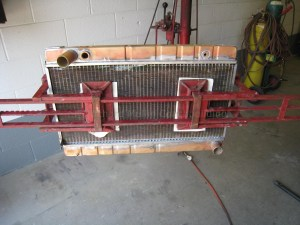 Ferrari 308 Radiator Reconstruction