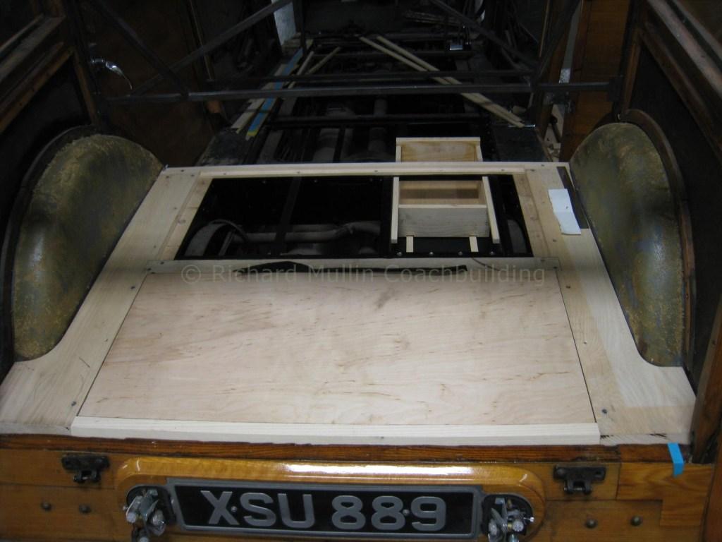 1934 Rolls-Royce Structural Wood Repair