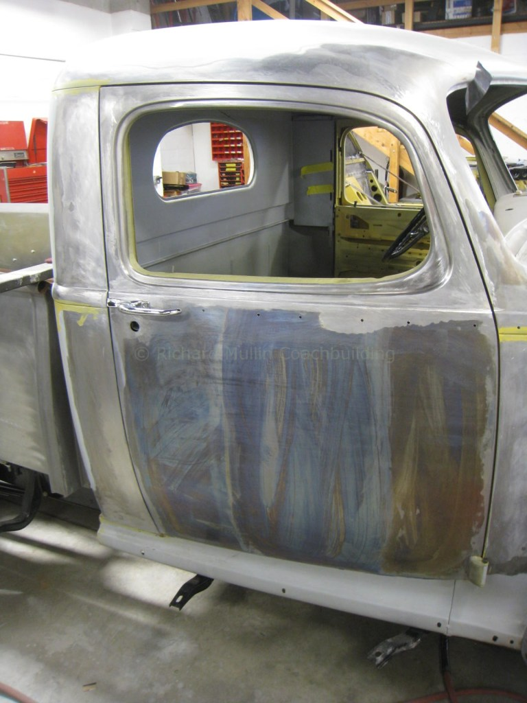 Fabrication of 1947 Hudson Pickup Door and Completed Cab