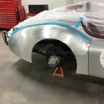 XK 120 Jaguar Aluminum Fender Fabrication