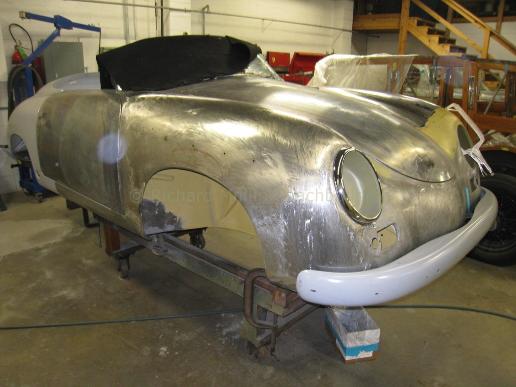 Porsche 356 Speedster Restoration