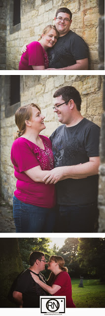 Paul and kelly engagement shoot in Kelloe