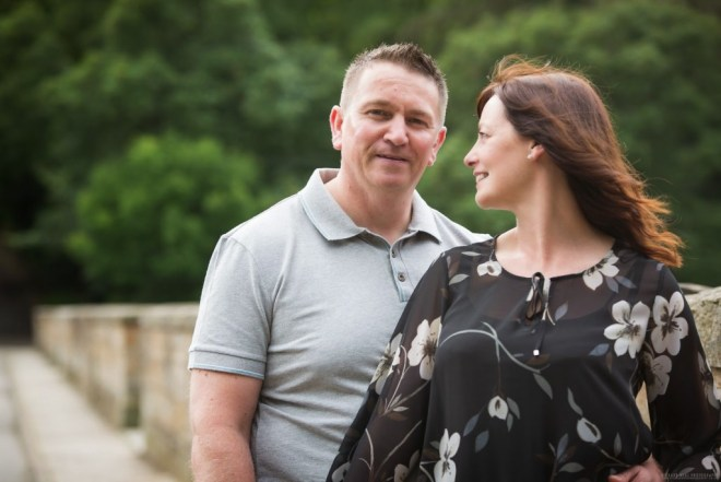 Durham city engagement pre weddinh photo shoot - mark and bev