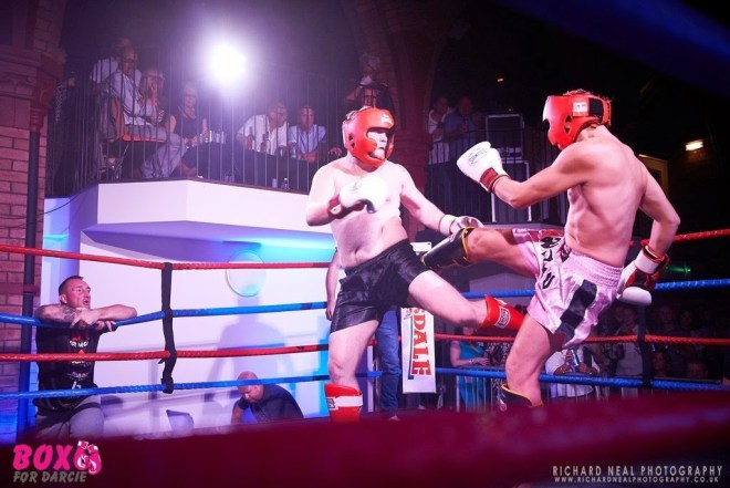 Box for Darcie charity thai boxing event