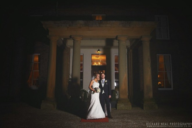 Wedding in Dinsdale - Solberge Hall reception