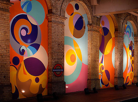 Beatriz Milhazes Art London Underground