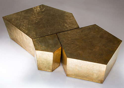 brass coffee tables with sass
