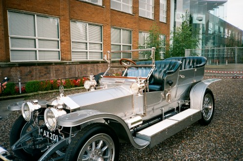 Silver Ghost RR, 1909