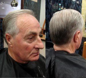 Corte de pelo clásico para caballeros
