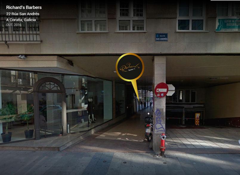 Richard's Barbería en A Coruña